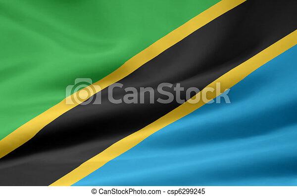 Flag of Tanzania - csp6299245