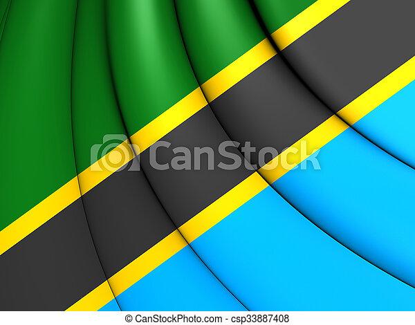 Flag of Tanzania - csp33887408