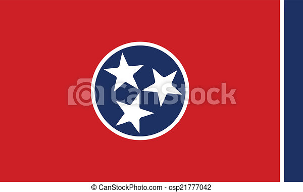 Flag of Tennessee - csp21777042