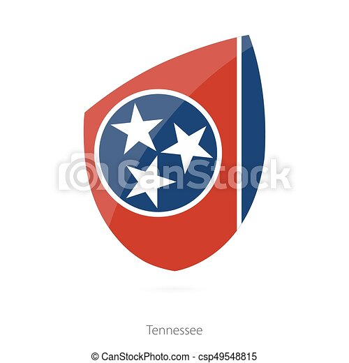 Flag of Tennessee. - csp49548815