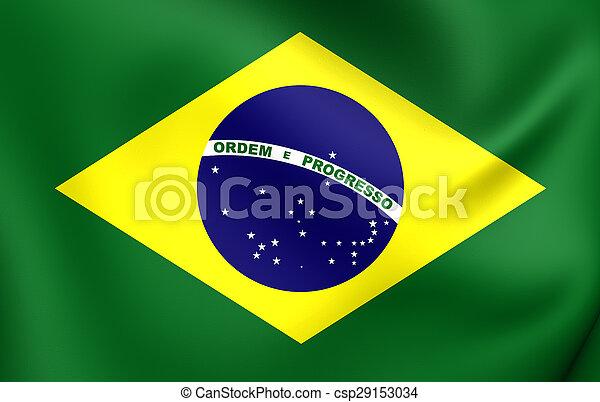 Flag of the Brazil - csp29153034