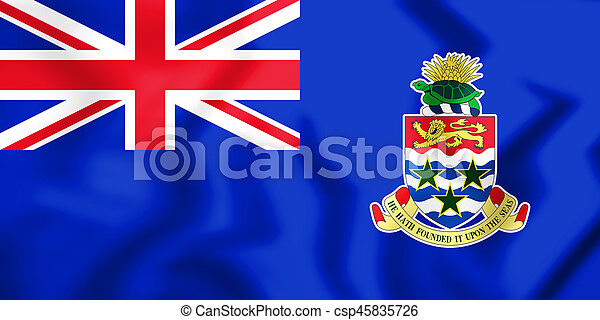 +Flag of the Cayman Islands - csp45835726