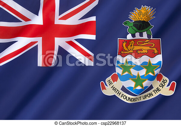 Flag of the Cayman Islands - csp22968137