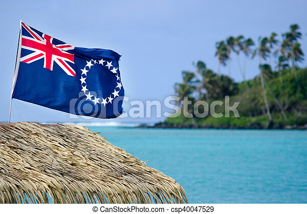 Flag of the Cook Islands - Cook Islands Ensign - csp40047529