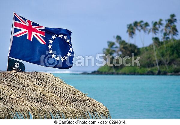 Flag of the Cook Islands - csp16294814
