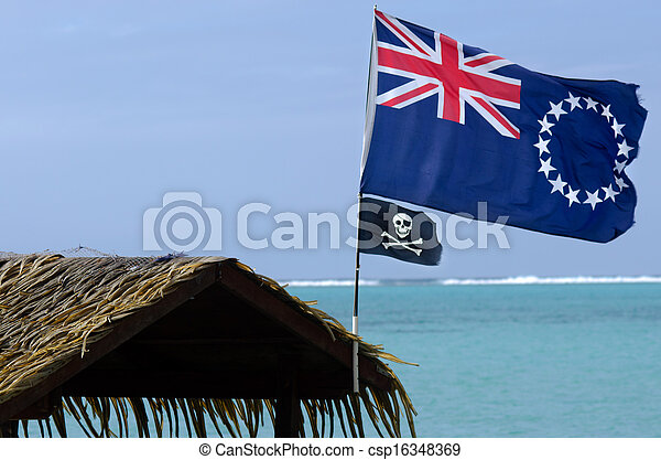 Flag of the Cook Islands - csp16348369