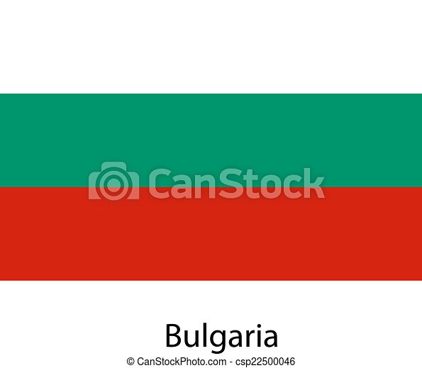 Flag of the country bulgaria. Vector illustration. - csp22500046