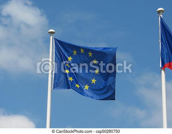flag of the European Union (EU) - csp50280750