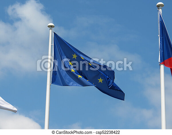 flag of the European Union (EU) - csp52238422