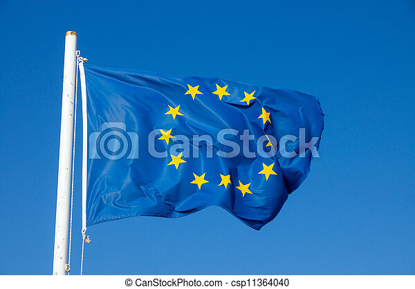 Flag of the European Union - csp11364040