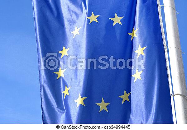 Flag of the European Union - csp34994445