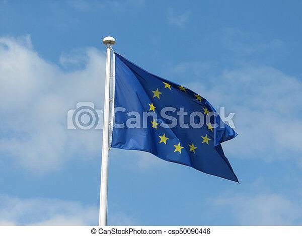 flag of the European Union - csp50090446