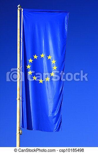 Flag of the European Union - csp10185498