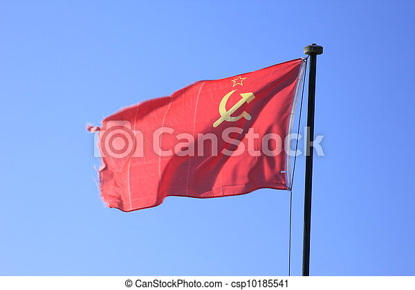 flag of the former Soviet Union - csp10185541