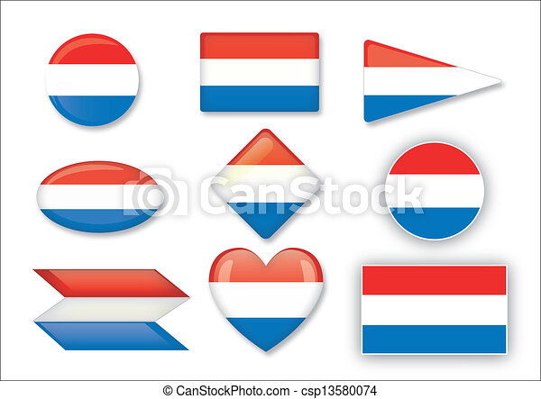 flag of the Netherlands - csp13580074