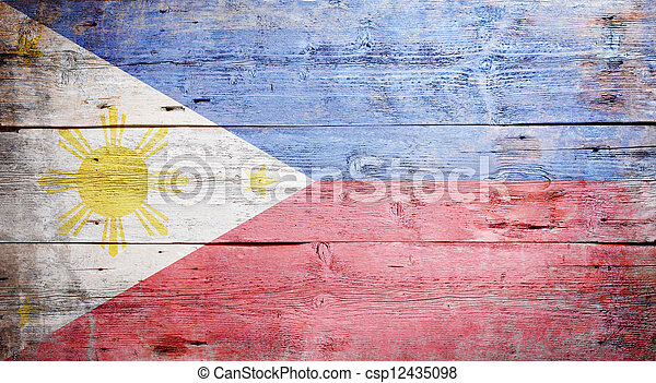 Flag of the Philippines - csp12435098