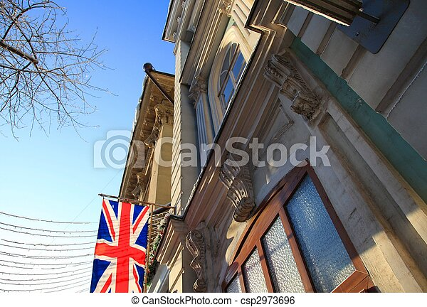 Flag of the UK - csp2973696