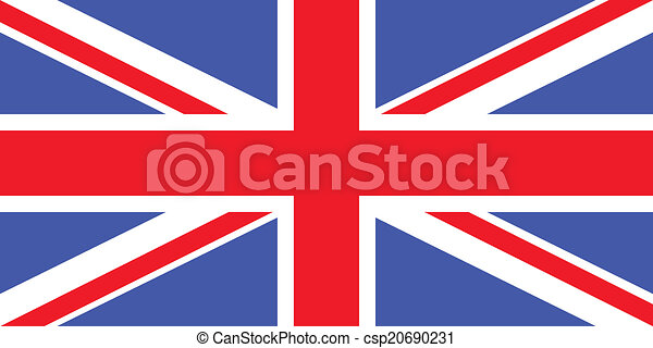 Flag of the United Kingdom - csp20690231