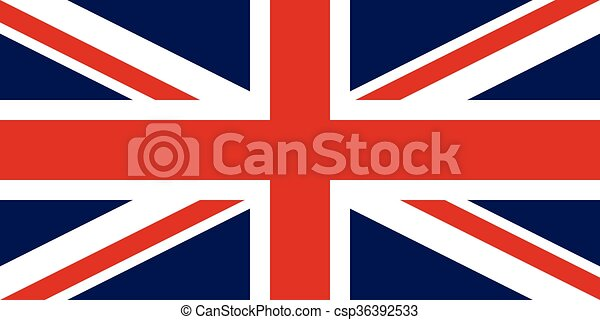 Flag of the United Kingdom - csp36392533