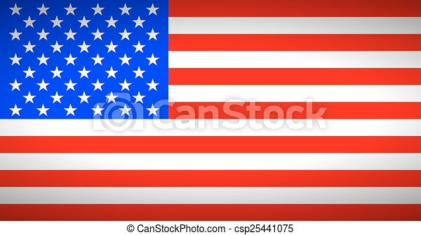Flag of the United States. - csp25441075