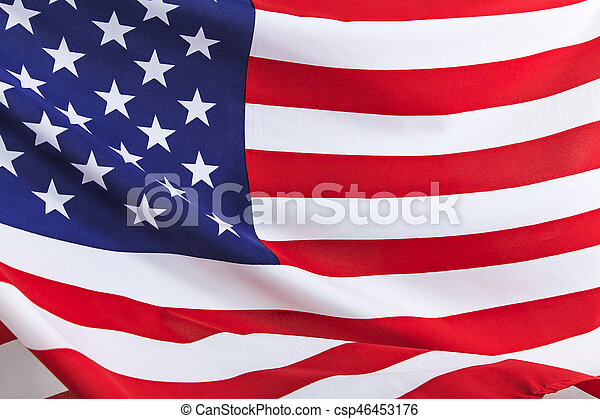 Flag of the USA - csp46453176