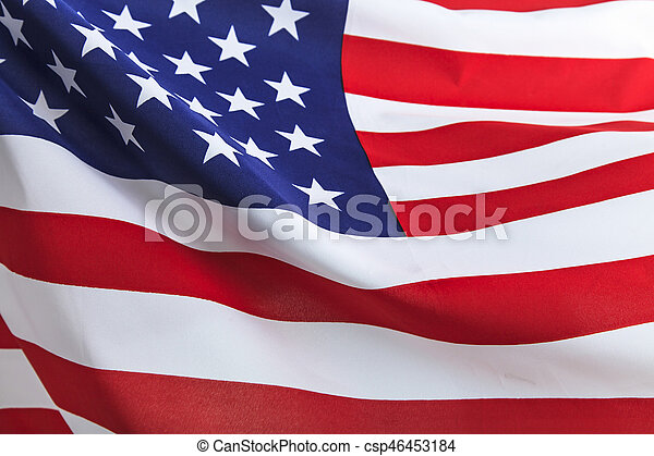 Flag of the USA - csp46453184