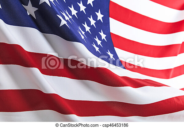 Flag of the USA - csp46453186