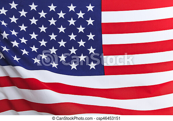 Flag of the USA - csp46453151