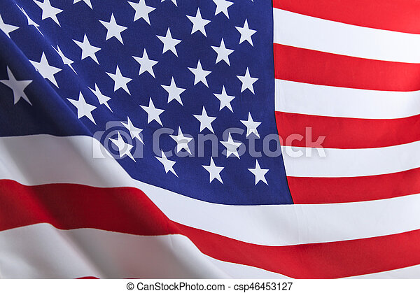 Flag of the USA - csp46453127