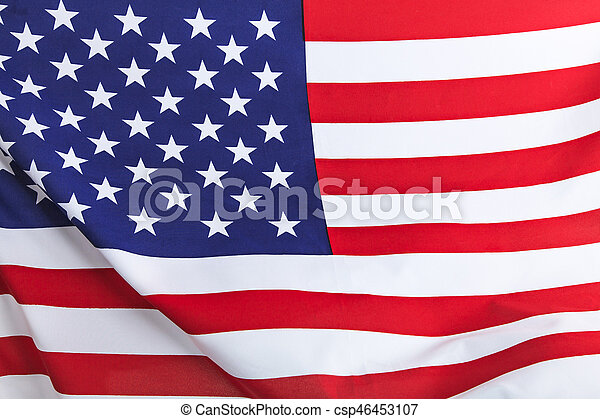 Flag of the USA - csp46453107