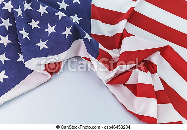 Flag of the USA - csp46453204