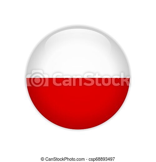 Flag of Thuringia button - csp68893497