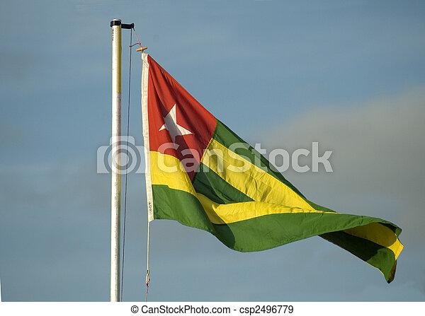 Flag of Togo - csp2496779