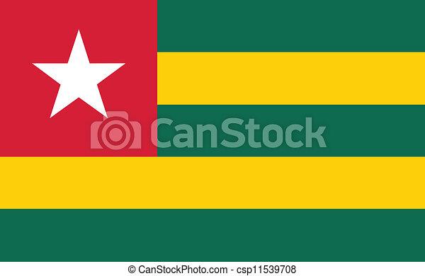 Flag of Togo - csp11539708