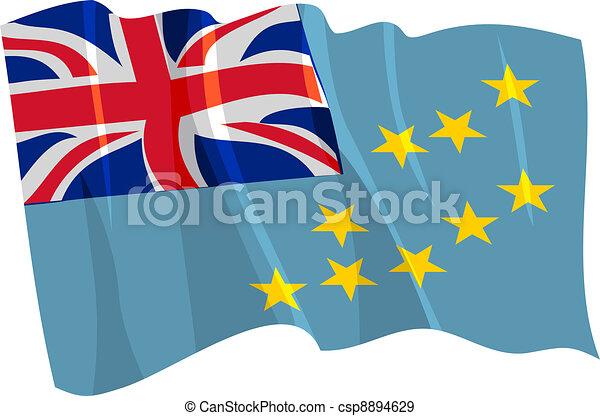 flag of Tonga - csp8894629
