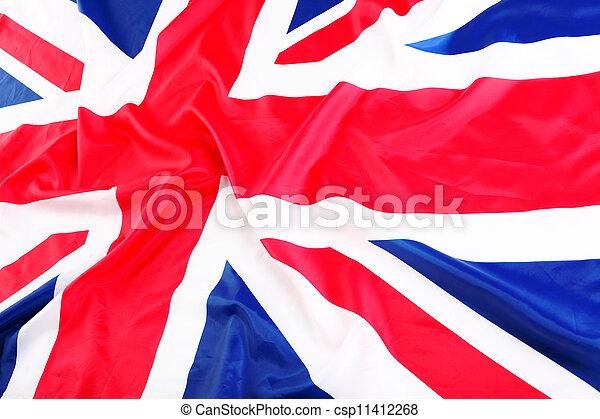 flag of UK - csp11412268