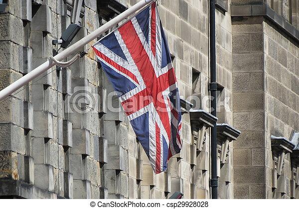 Flag of UK - csp29928028