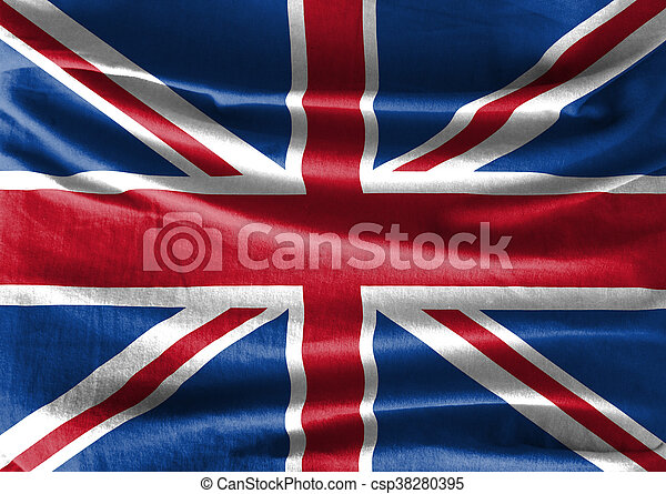 Flag of UK - csp38280395