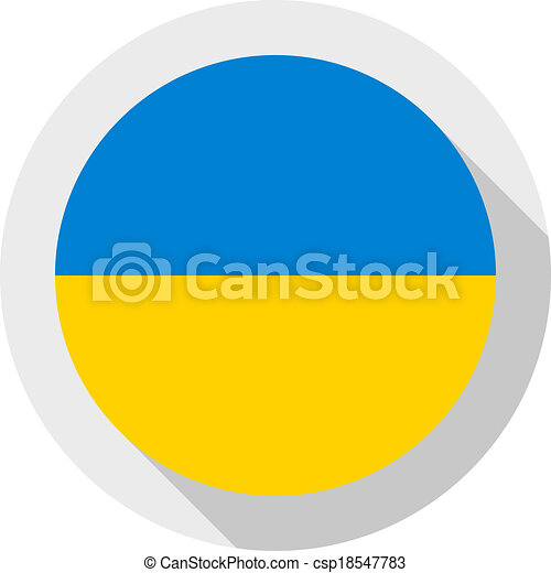 Flag of Ukraine - csp18547783