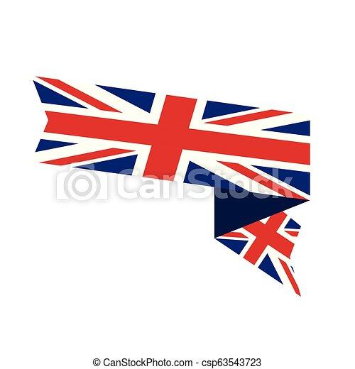Flag of United Kingdom - csp63543723