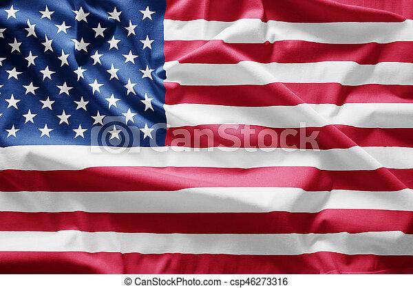 Flag of usa - csp46273316