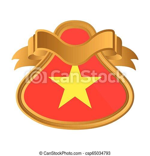 Flag of Vietnam - csp65034793