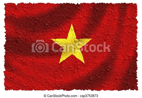 Flag of Vietnam - csp3753873