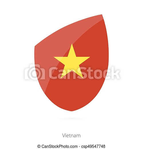 Flag of Vietnam. - csp49547748