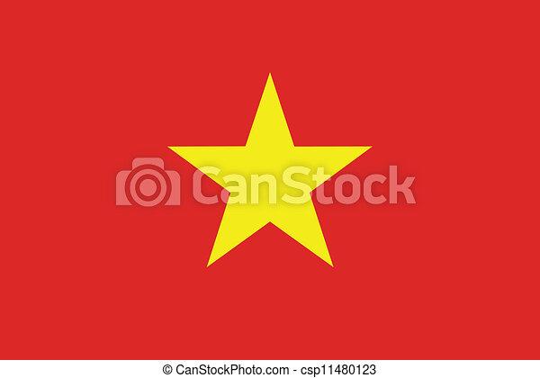 Flag of Vietnam - csp11480123