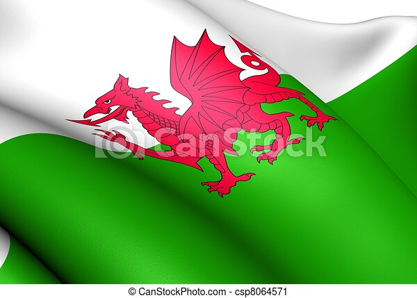 Flag of Wales - csp8064571