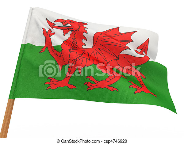 Flag of wales - csp4746920