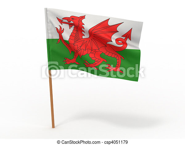 Flag of wales - csp4051179