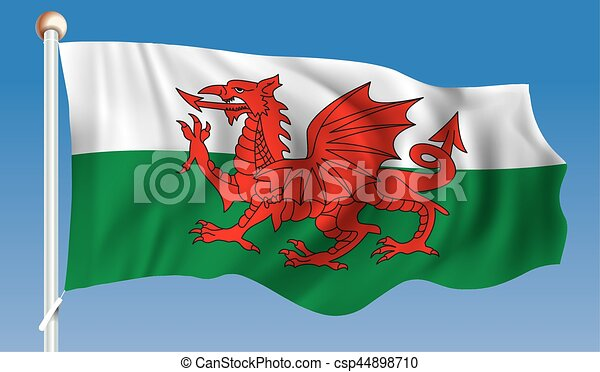 Flag of Wales - csp44898710