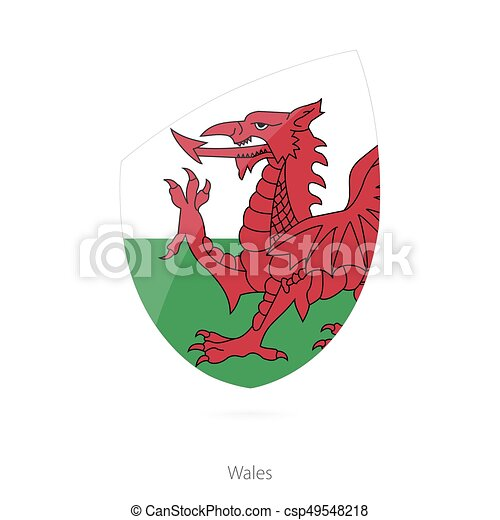 Flag of Wales. - csp49548218